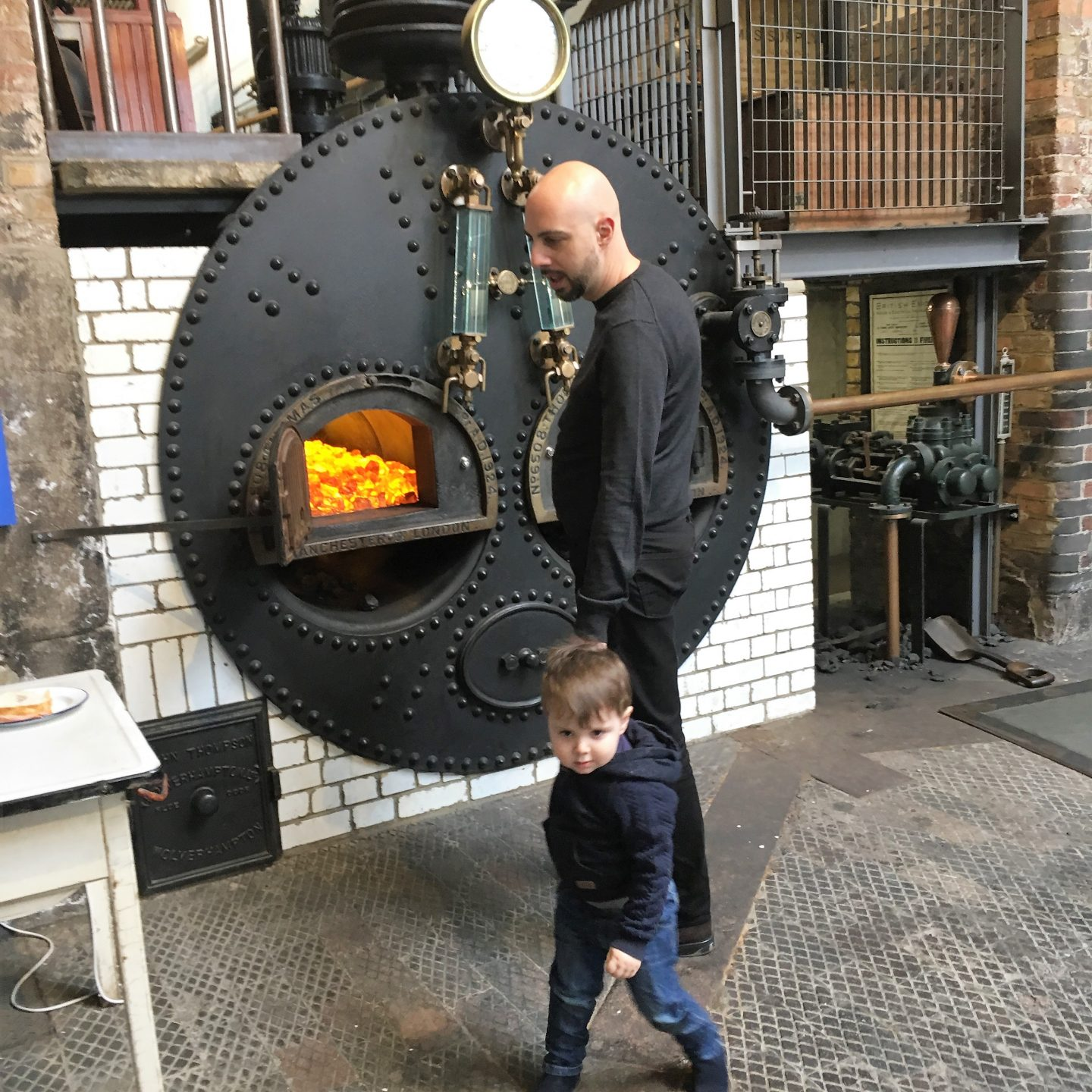 A Sunday at the Water and Steam Museum